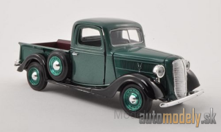 Motormax - Ford Pick Up, metallic-grün/black, without showcase, 1937 - 1:24