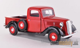 Motormax - Ford Pick Up, red/black, 1937 - 1:24