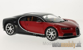Bburago - Bugatti Chiron, red/black - 1:18