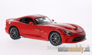 Maisto - Dodge Viper SRT GTS, red, 2013 - 1:18