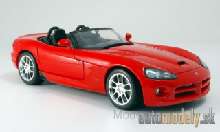 Maisto - Dodge Viper SRT-10 , red, without showcase, 2003 - 1:18