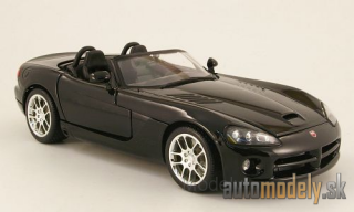 Maisto - Dodge Viper SRT-10, black, without showcase, 2003 - 1:18