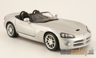 Maisto - Dodge Viper SRT-10, silver, without showcase, 2003 - 1:18