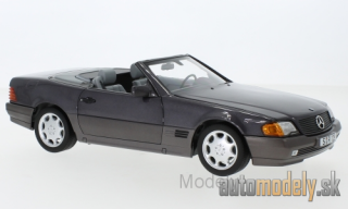 Norev - Mercedes 500 SL (R129), metallic-helllila, with Softtop and Hardtop, 1988 - 1:18