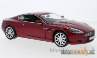 Motormax - Aston Martin DB9, metallic-dark red - 1:18