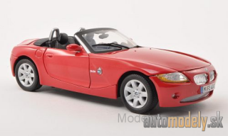 Motormax - BMW Z4 (E85), red, 2008 - 1:18