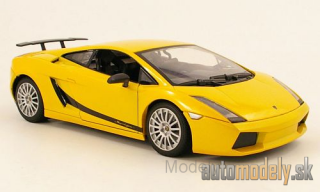 Motormax - Lamborghini Gallardo Superleggera, met.-yellow - 1:18
