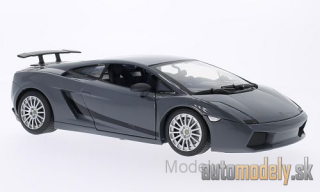 Motormax - Lamborghini Gallardo Superleggera, metallic-black - 1:18