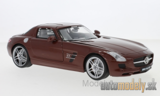 Motormax - Mercedes SLS AMG (C197), metallic-brown - 1:18