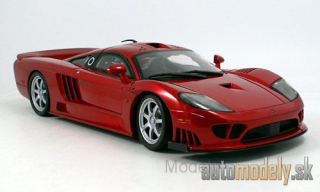 Motormax - Saleen S7 Twin Turbo, metallic-red, without showcase - 1:12