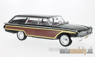 MCG - Ford Country Squire, black/wood optics, without roof railing, 1960 - 1:18
