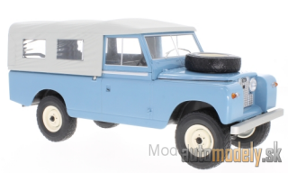 MCG - Land Rover 109 Pick Up series II, blue/grey, 1959 - 1:18