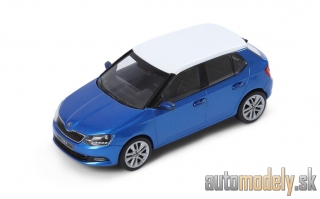 Škoda Fabia Race Blue - 1:43