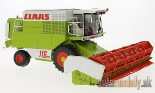 Wiking - Claas Commandor 116 CS, Mähdrescher with Getreidevorsatz C660 - 1:32