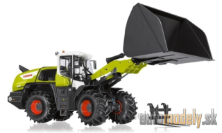 Wiking - Claas wheel loader Torion 1812, with Leichtgutschaufel and pallets fork - 1:32