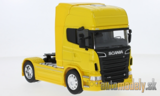 Welly - Scania R730 V8 (4x2), yellow - 1:32