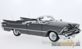 Sun Star - Dodge customs Royal Lancer Convertible , dunkelgrau, without showcase, 1959 - 1:18
