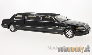 Sun Star - Lincoln Town Car Limousine, black, 2003 - 1:18