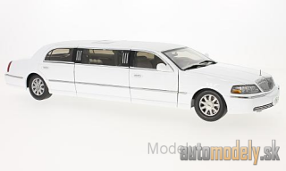 Sun Star - Lincoln Town Car Limousine, white, 2003 - 1:18