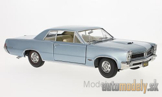 Sun Star - Pontiac GTO, metallic-light blue, 1965 - 1:18