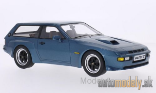 Premium X - Porsche 924 Turbo station wagon Artz , metallic-blue, 1981 - 1:18