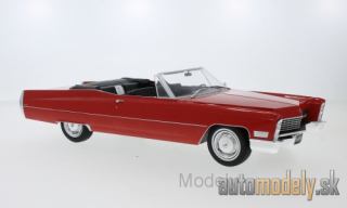 KK-Scale - Cadillac DeVille Convertible, red, 1968 - 1:18