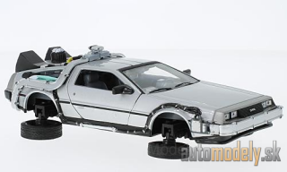 Welly - DeLorean Back to the future II, Flying Wheel Version - 1:24