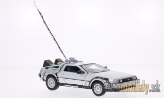 Welly - DeLorean Time Machine, Back to the Future I - 1:24