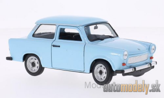 Welly - Trabant 601, light blue - 1:24