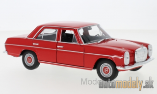 Welly - Mercedes 220 (W115), red, 1968 - 1:24