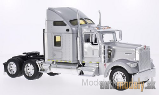 Welly - Kenworth W900, silver - 1:32