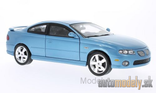 ERTL American Muscle - Pontiac GTO, metallic-light blue, 2004 - 1:18