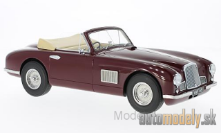 BoS-Models - Aston Martin DB2 DHC, dark red, RHD, 1950 - 1:18