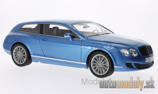 BoS-Models - Bentley Continental Flying star by Touring, metallic-blue, 2010 - 1:18