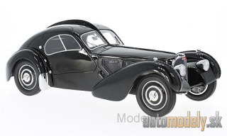 BoS-Models - Bugatti T57 SC Atlantic, black, RHD, 1938 - 1:18