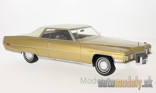 BoS-Models - Cadillac Coupe DeVille, gold/white, 1972 - 1:18