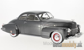 BoS-Models - Cadillac series 62 Club Coupe, metallic-dunkelgrau, without showcase, 1941 - 1:18
