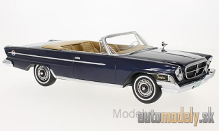 BoS-Models - Chrysler 300H Convertible, metallic-dark blue, 1962 - 1:18