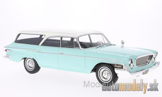 BoS-Models - Chrysler Newport Town & Country Wagon, helltürkis/white, 1962 - 1:18