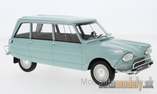 BoS-Models - Citroen Ami 6 Break, light blue, 1967 - 1:18