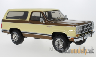 BoS-Models - Dodge Ramcharger, beige/metallic-brown, 1979 - 1:18