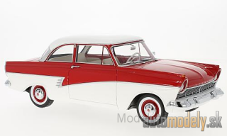 BoS-Models - Ford Taunus 17M (P2), red/white, 1957 - 1:18