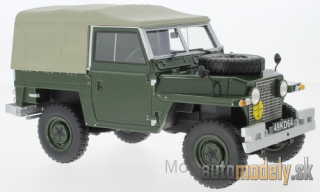 BoS-Models - Land Rover Lightweight series IIA, olive greeen, RHD, Soft Top, 1968 - 1:18