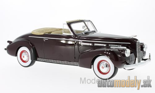 BoS-Models - LaSalle series 50 Convertible Coupe, dark red, 1940 - 1:18