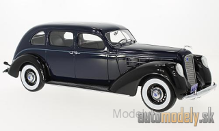 BoS-Models - Lincoln V-12 Model K Limousine, dark blue/black, 1937 - 1:18