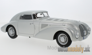 BoS-Models - Mercedes 540 K (W29) streamline car, silver, 1938 - 1:18