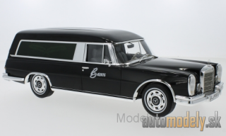 BoS-Models - Mercedes 600 Pollmann, black, 1969 - 1:18