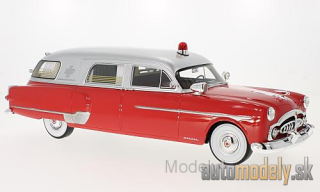 BoS-Models - Packard Henney Ambulance, red/silver, Ambulance, 1952 - 1:18