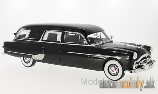 BoS-Models - Packard Henney Hearse, black, 1952 - 1:18