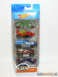 Hot Wheels - City 5-pack